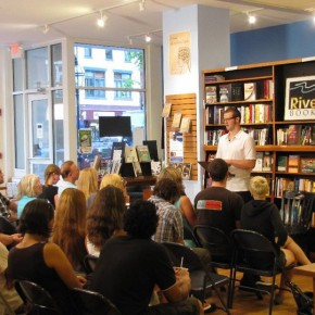 Reading at RiverRun Bookstore