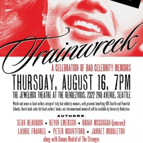 Trainwreck Reading TONIGHT @ The Jewelbox!